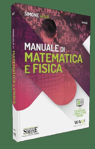 libro manuale matematica e fisica per test medicina