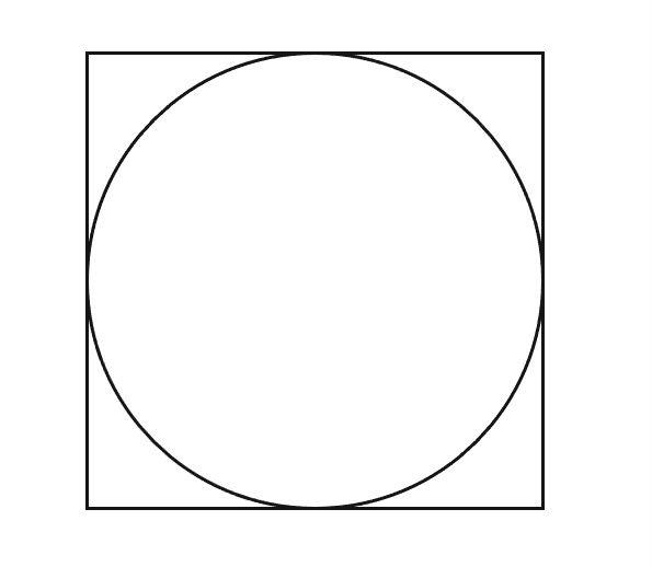 quadrato circoscritto