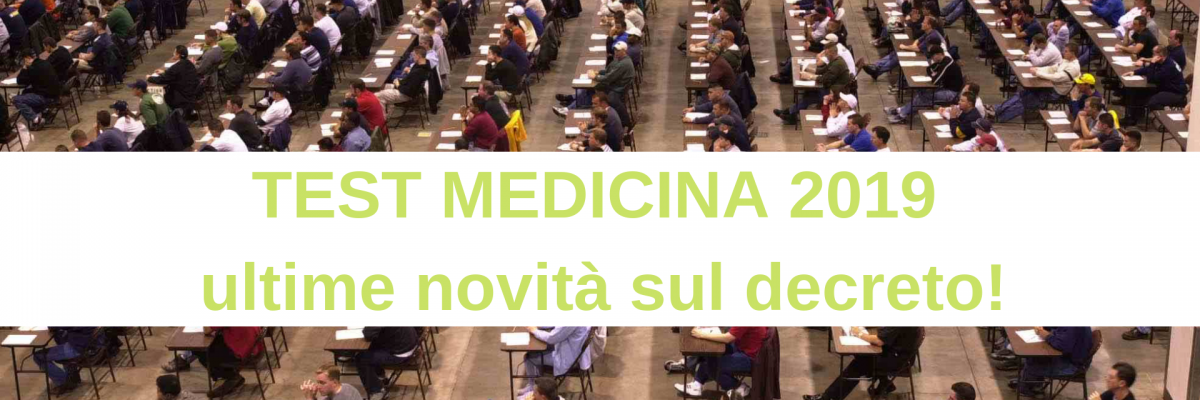 TEST MEDICINA 2019_ ultime news